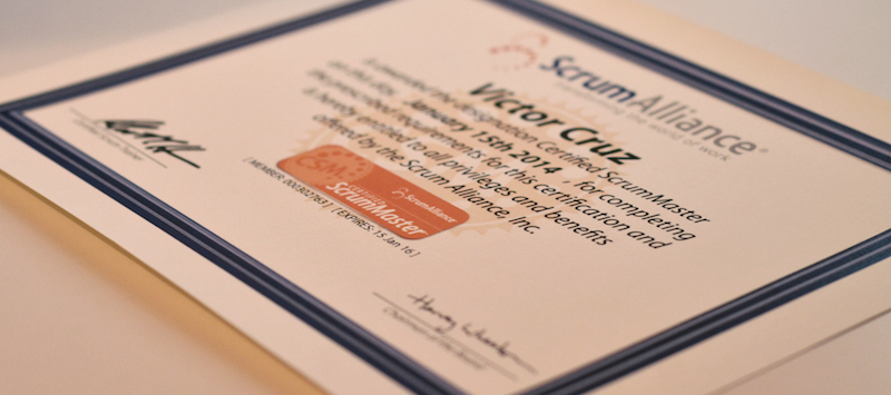 Become a Certified ScrumMaster (CSM)