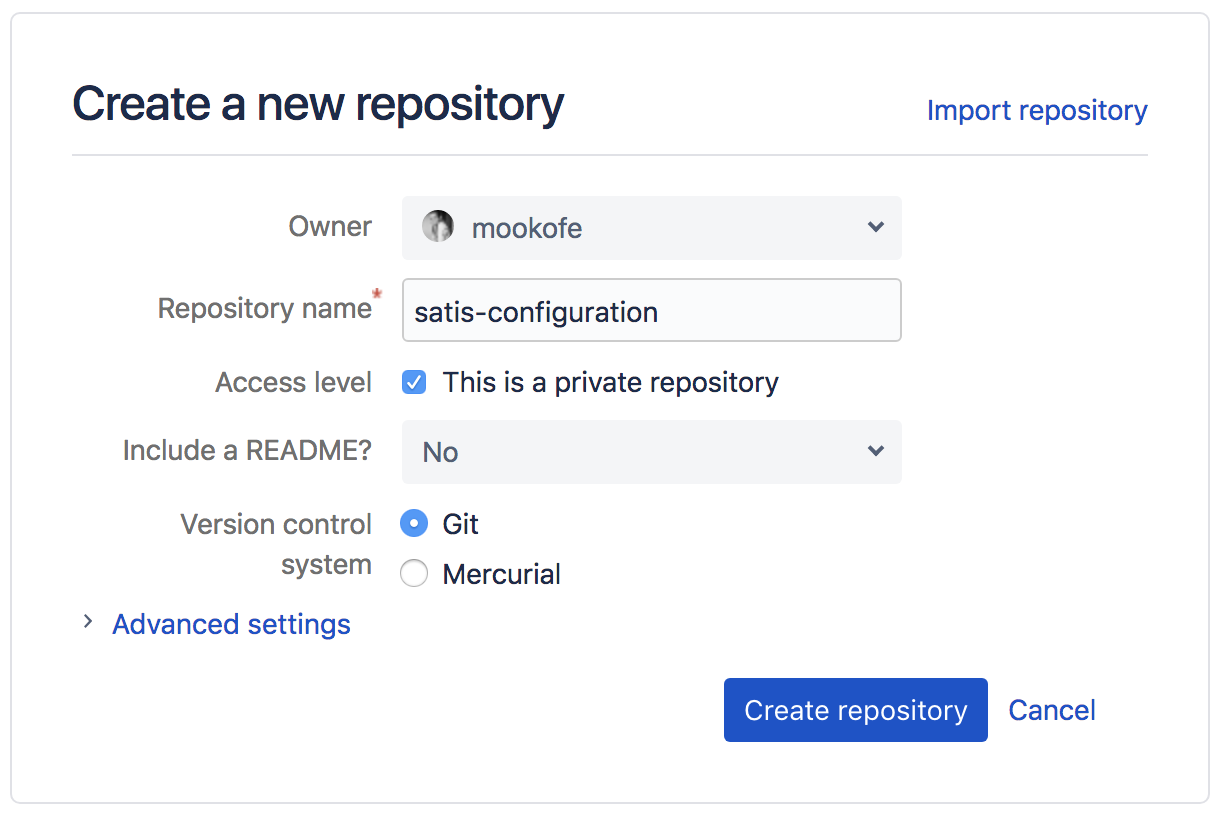 Automating Satis build and maintenance using Git repository
